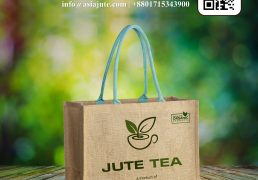 Large jute shopping bags