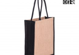 Color Jute Shopping Bags